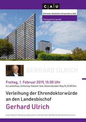 Ehrendoktorwürde Gerhard Ulrich
