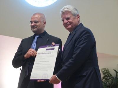 Verleihung der Ehrendoktorwürde an Joachim Gauck