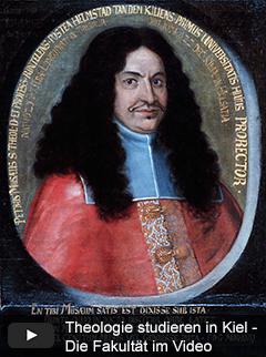 Petrus Musäus (1620-1674), Professor der Theologie, erster Dekan der Theologischen Fakultät und Prorektor der Universität im Jahr 1665