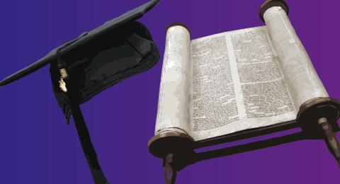 Graduation Fall, Tora und Innenansicht der ehemaligen Synagoge Glockengasse